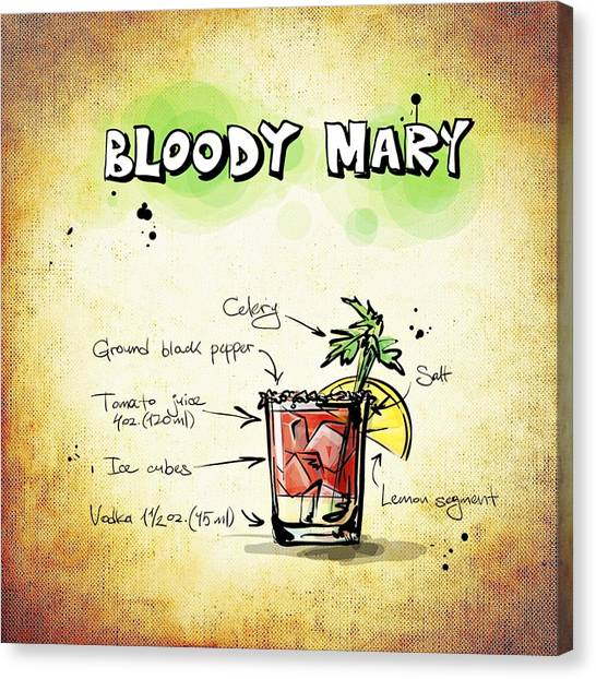 Bloody Mary Canvas Print - Bloody Mary by Movie Poster Prints