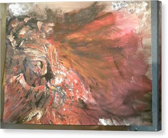 Pheasants Canvas Print - Bloody Pheasant  by Kerri Thompson