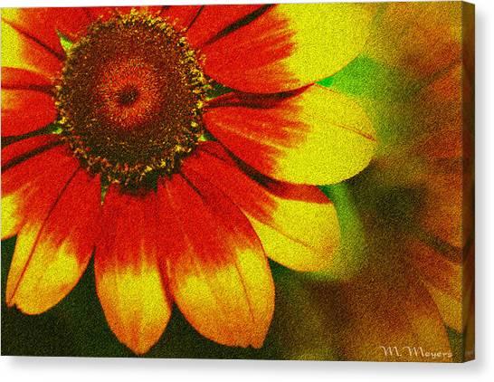 Bloom Canvas Print by Melisa Meyers