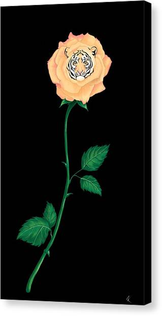 Blooming Bengal Canvas Print