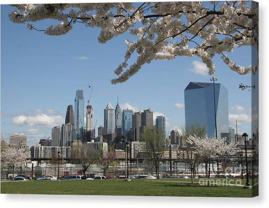 Caa Canvas Print - Blooming Philadelphia  by Clay Cofer