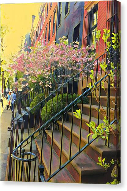 Blooms Of New York Canvas Print