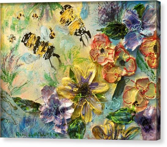 Blossom Buzz Canvas Print