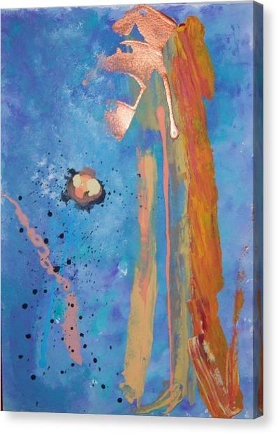 Blossom Canvas Print by Helene Henderson