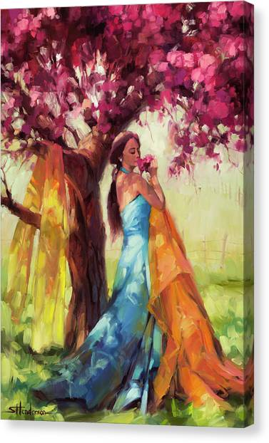 Tree Blossoms Canvas Print - Blossom by Steve Henderson