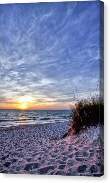 Sea Canvas Print - Blowing Rocks Beach by Jon Glaser