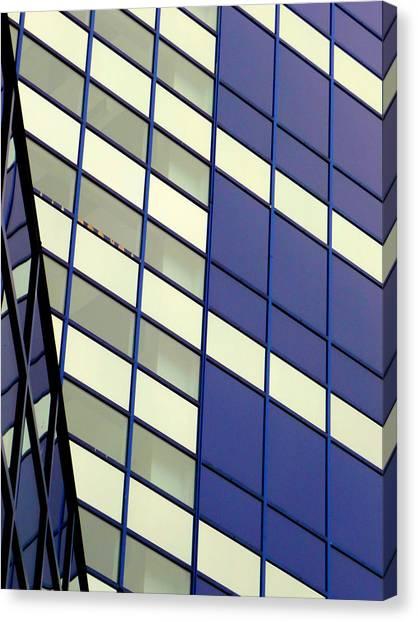 Blue 1114 Canvas Print