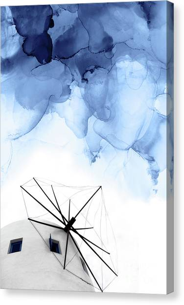 Modern Architecture Canvas Print - Stormy Weather II by PrintsProject