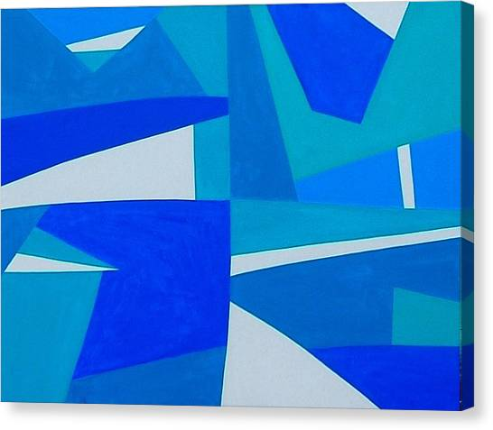 Blue Alet Canvas Print