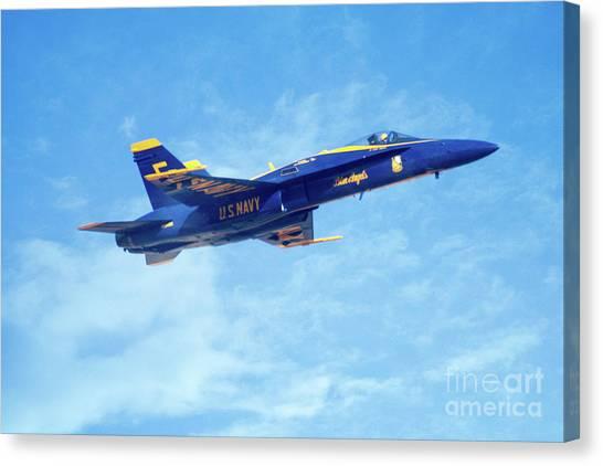 Blue Angel #5 In Arizona Canvas Print