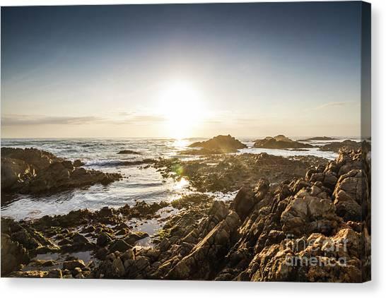 Calm Down Canvas Print - Blue Beach Beauty by Jorgo Photography - Wall Art Gallery