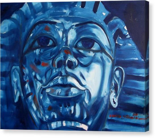 Blue Boy Canvas Print by Howard Stroman