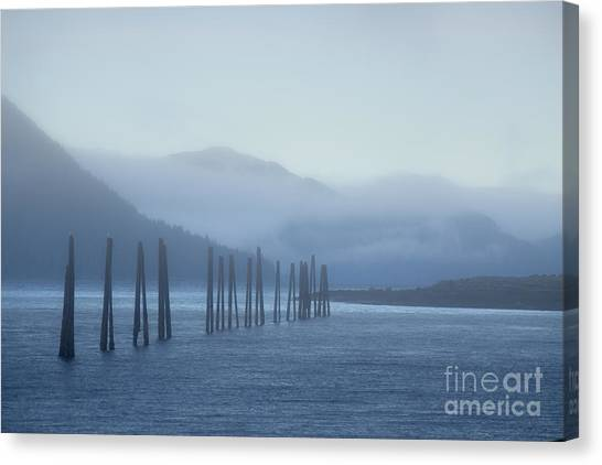 Blue Canvas Print by Charity Hommel