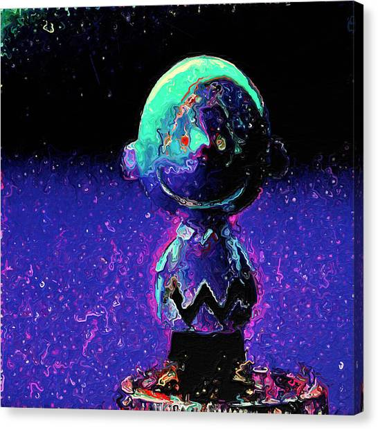 Canvas Print - Blue Charlie by Modern Art