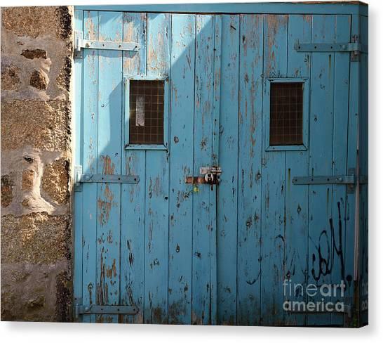 Blue Doors Canvas Print