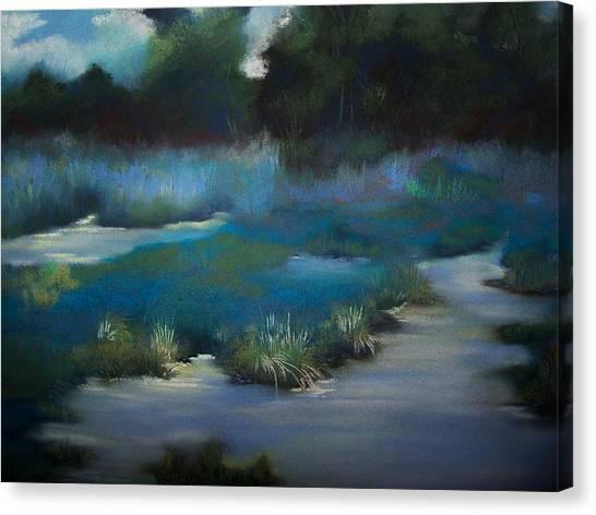 Blue Eden Canvas Print