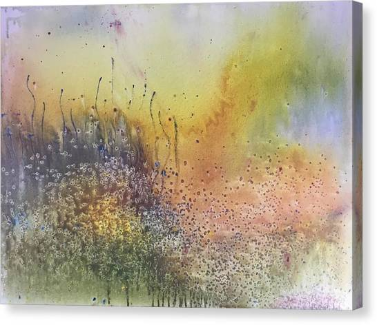 Blue Haze Canvas Print