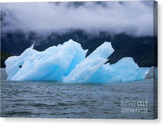 Blue Iceberg Canvas Print