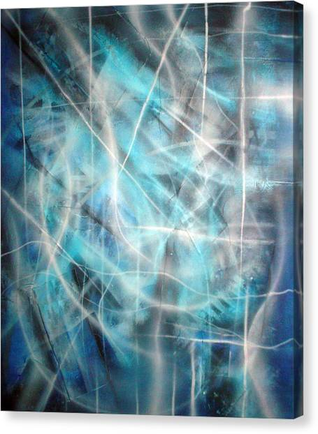 Blue II Canvas Print by Leigh Odom