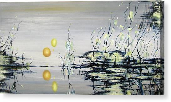 Blue Lagoon Canvas Print by Judy Merrell