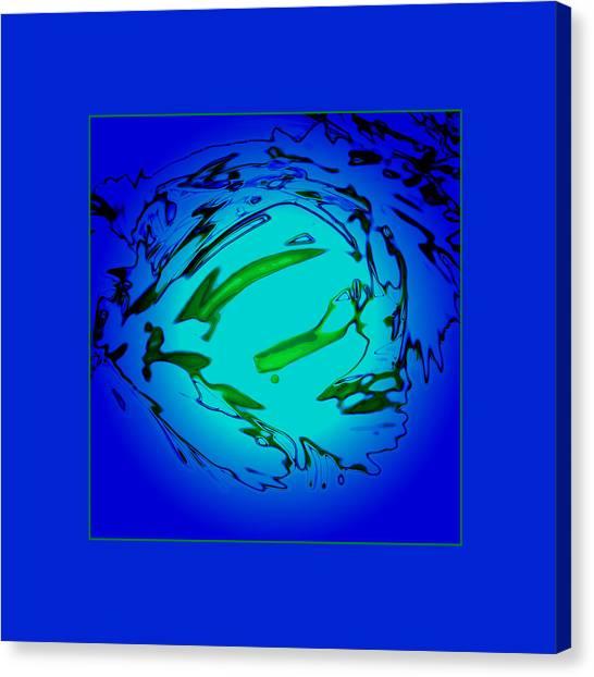 Blue Lagoon Canvas Print by Roy Lewis