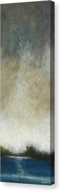 Blue Linear 1  Canvas Print by Eric Rabbers
