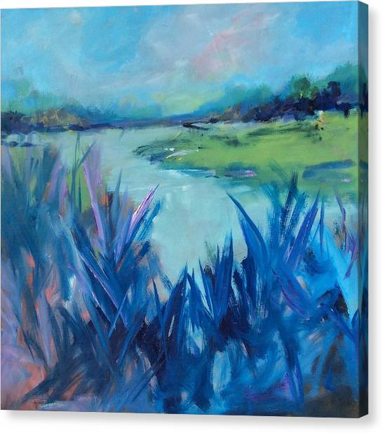 Blue Marsh Canvas Print