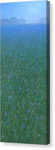 Blue Meadow 2 Canvas Print