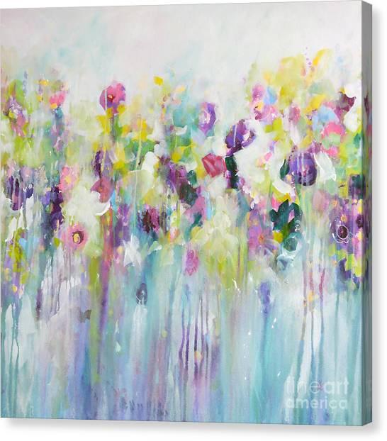 Blue Meadow II Canvas Print