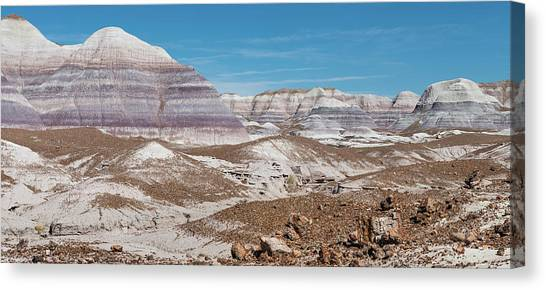 Petrified Forest Canvas Print - Blue Mesa Pano by Joseph Smith
