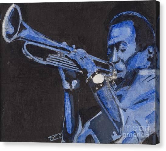 Blue Miles Canvas Print