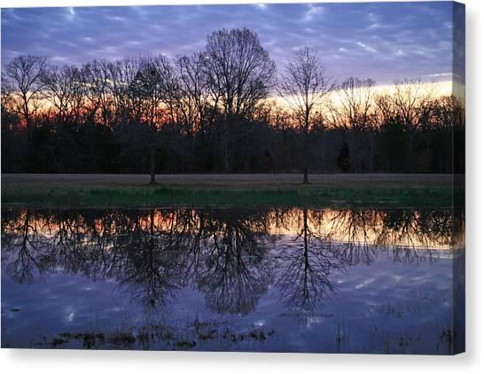 Blue Morning Canvas Print by James Jones