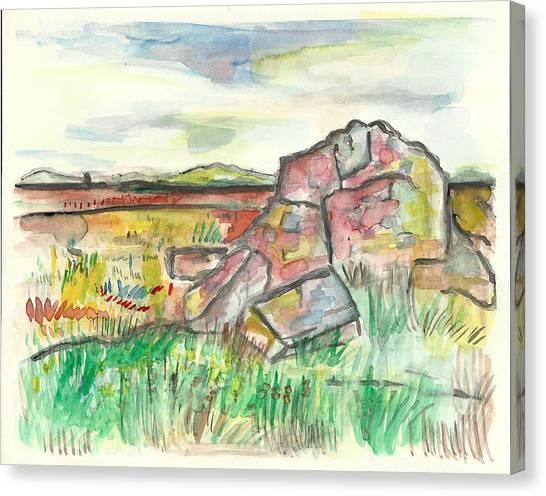 Blue Mounds State Park Canvas Print