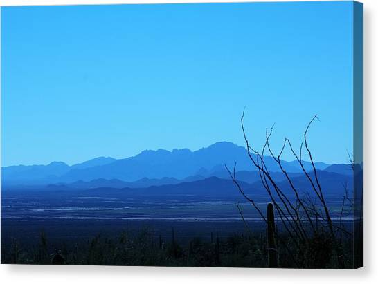 Blue Mountain Canvas Print