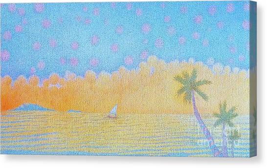 Blue Nile Canvas Print