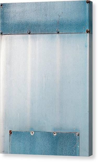 Canvas Print - Blue Over Blue 01 by Richard Nixon