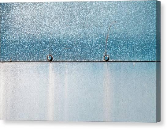 Canvas Print - Blue Over Blue 02 by Richard Nixon