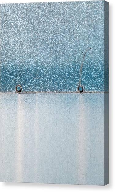 Canvas Print - Blue Over Blue 03 by Richard Nixon