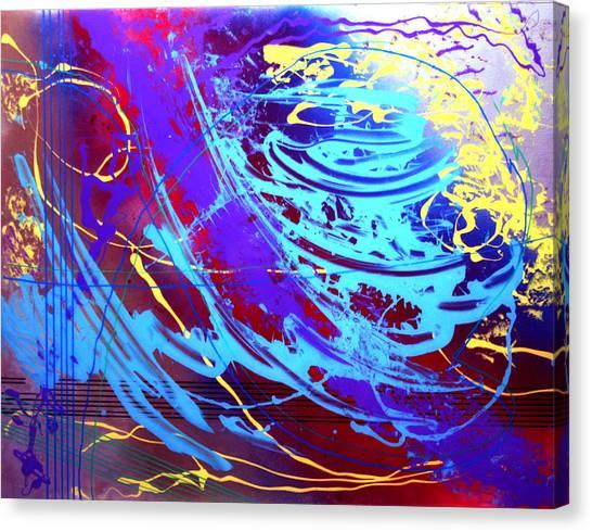 Blue Reverie Canvas Print