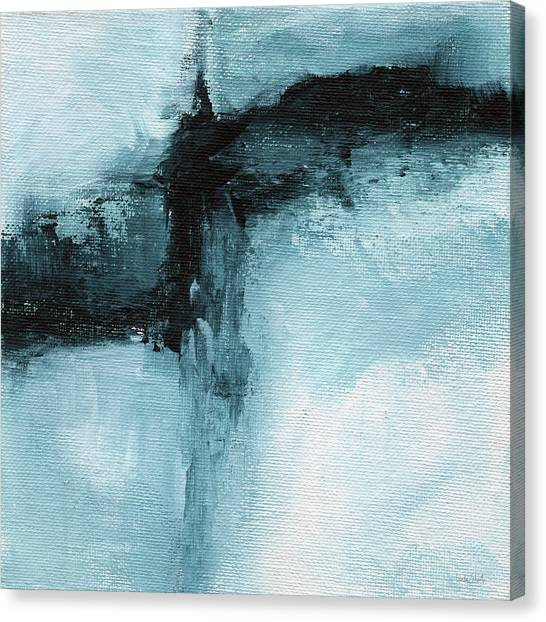 Organic Canvas Print - Blue Ridge- Abstract Art By Linda Woods by Linda Woods