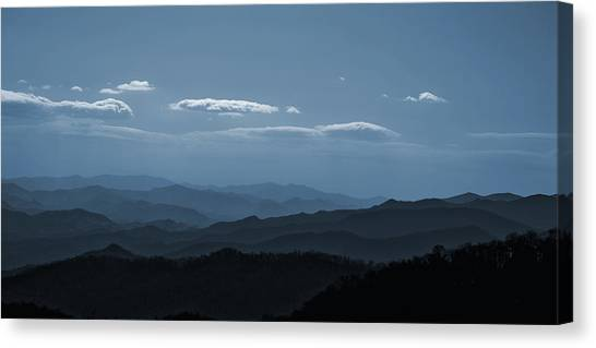 Blue Ridge Blue Canvas Print
