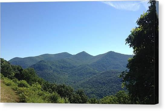 Blue Ridge Mountains Canvas Print
