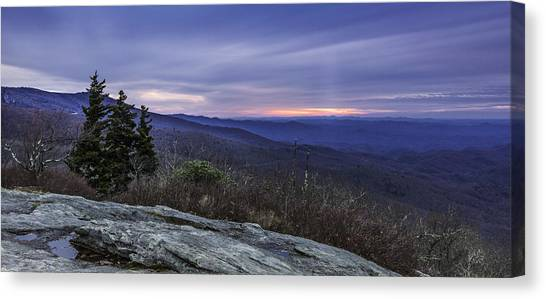 Blue Ridge Parkway Sunrise Canvas Print