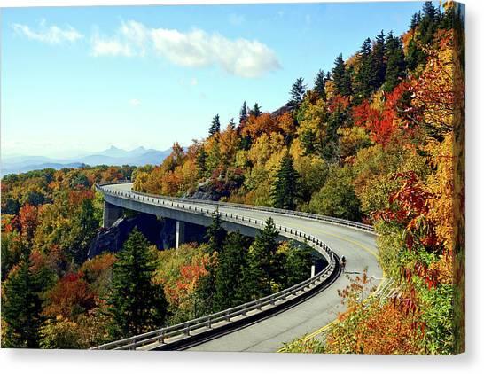 Blue Ridge Parkway Viaduct Canvas Print