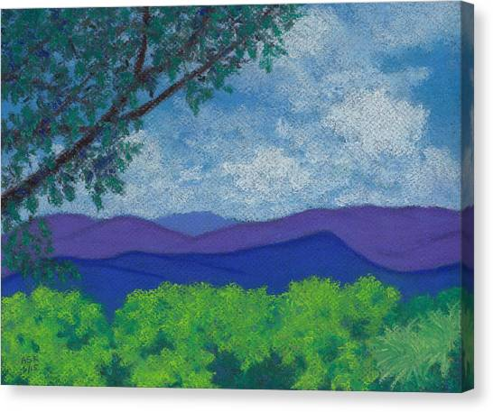 Blue Ridges 4 Canvas Print