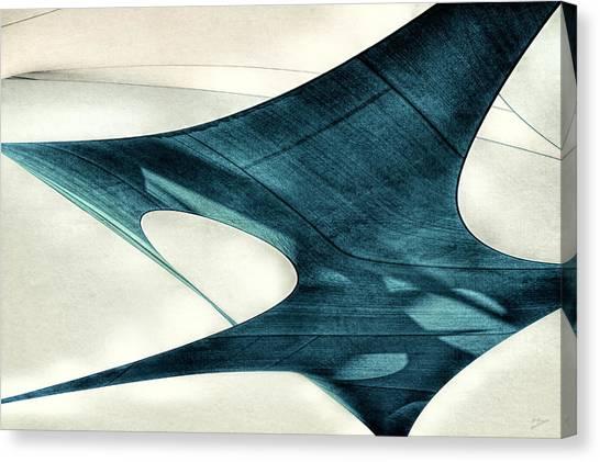Blue Sails Canvas Print