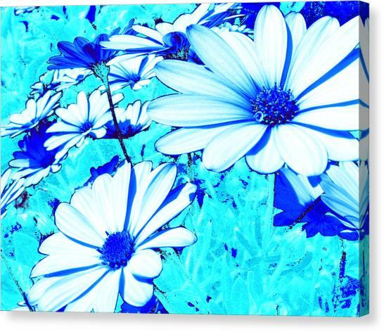 Blue Season Canvas Print by Ingrid Dance