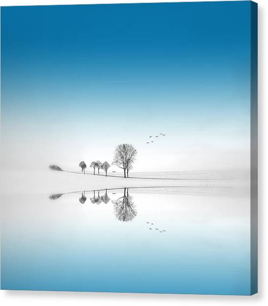 Blue Season Canvas Print