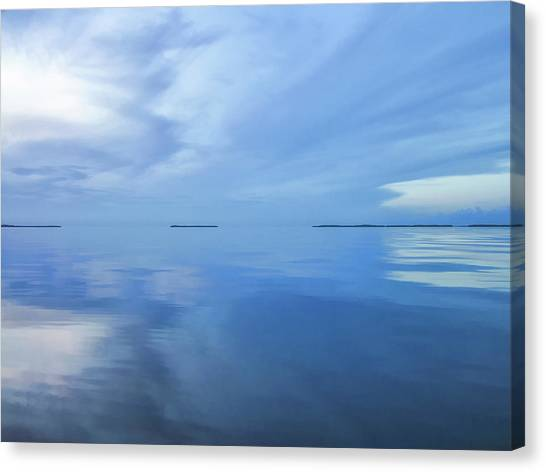 Blue Serenity Canvas Print