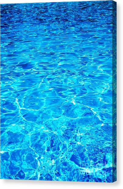 Blue Shadow Canvas Print